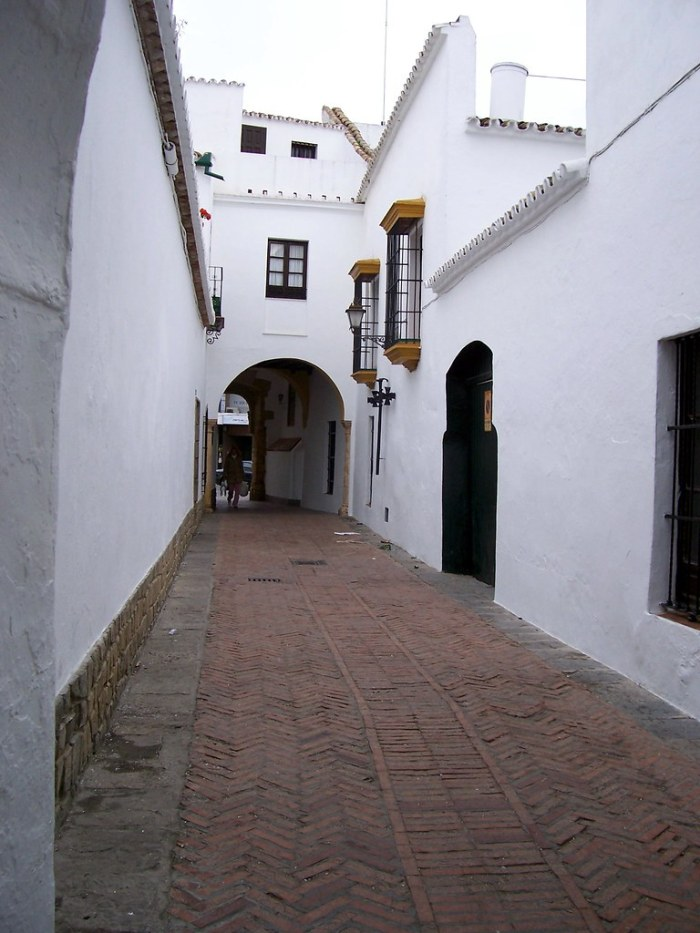 Calle del Niño Perdido, la antigua Judería de Utrera.