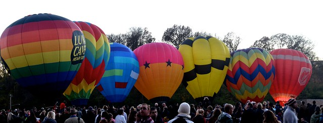 Balloons in Daylight