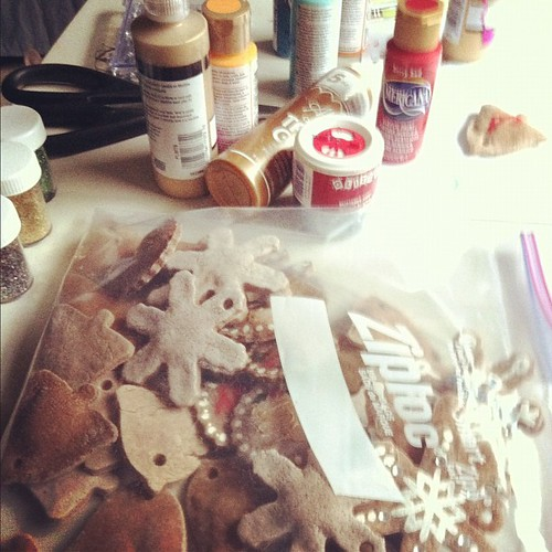 a lot more to go #diyornaments #christmas #craftymess