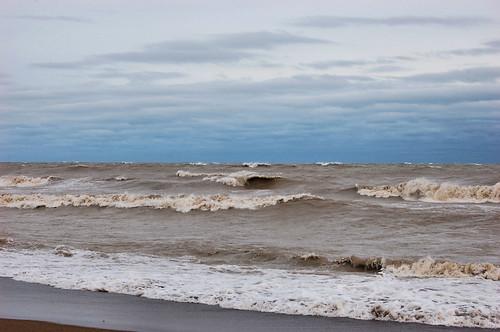 Lake Michigan after Sandy 16