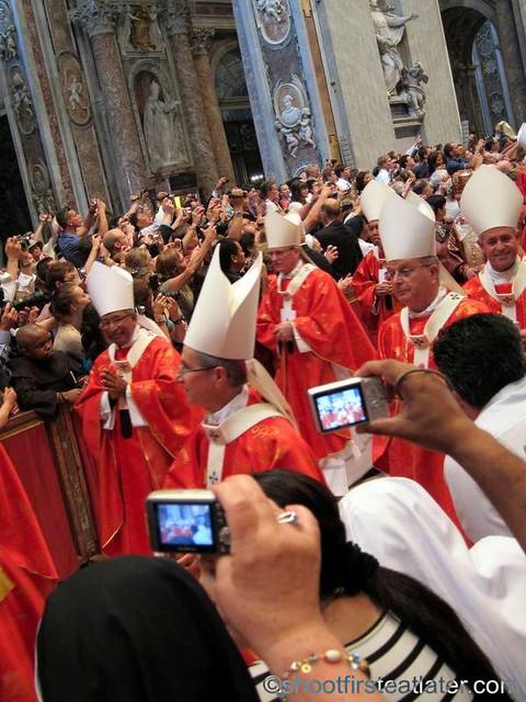 Papal mass at the Vatican- Archbishop Luis Antonio Tagle-001