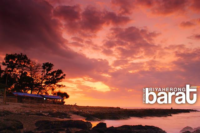 Sunset in San Juan La Union Philippines