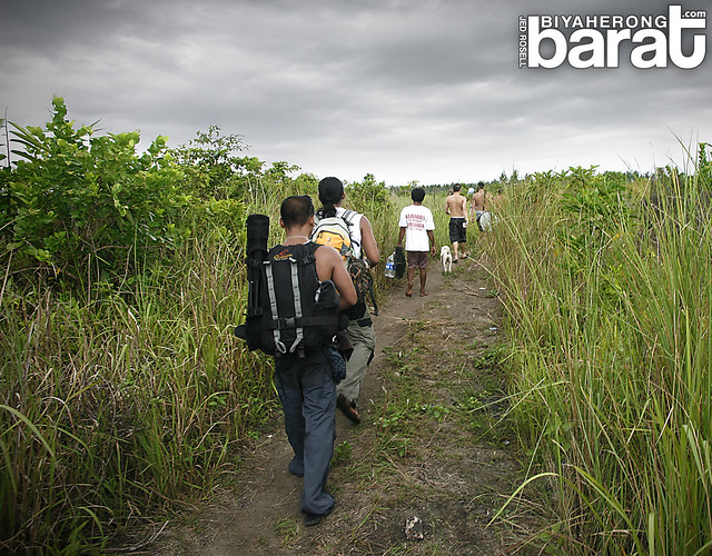 hiking to town cagbalete island quezon