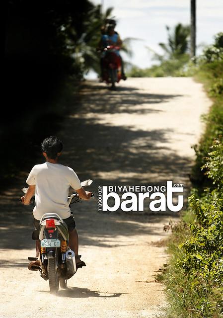 Motorcycle for transportation in bantayan island cebu