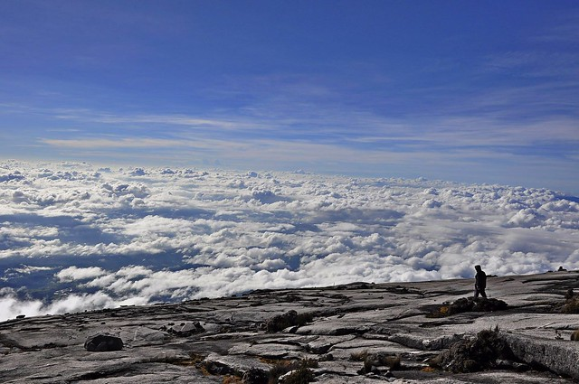 The summit plateau of Mount Kinabalu