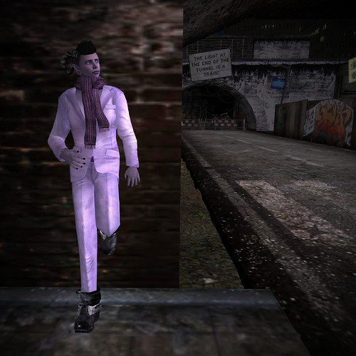 That right there is a violet suit.