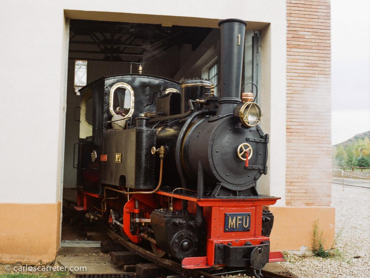 "Locomotora nº 1 ""Hulla"" MFU"
