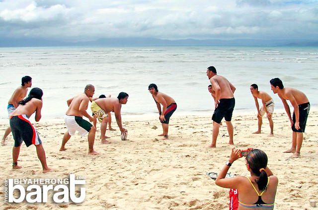 beach football in Quezon Province