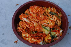 Making and sharing kimchi in Gaemi Village, 1 December 2012