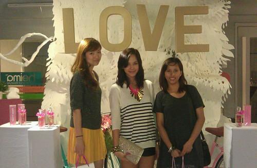 with Valerie Chua and Patricia Prieto