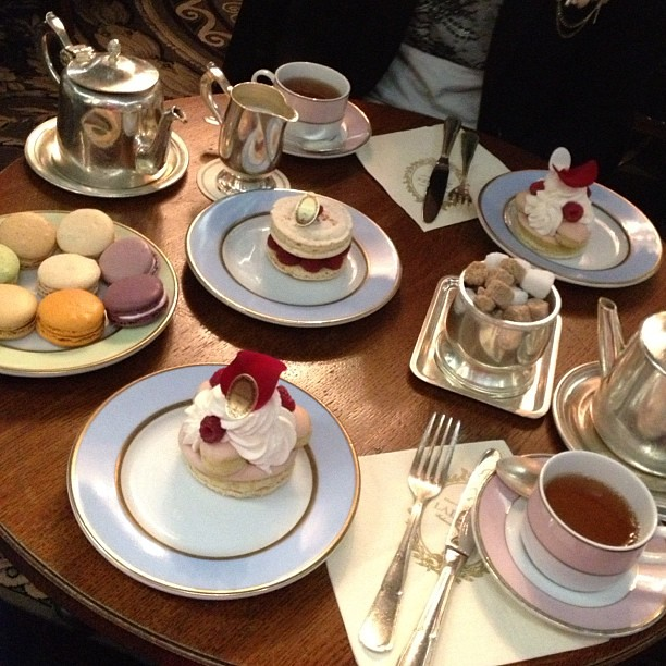 Afternoon dessert time at Ladurée