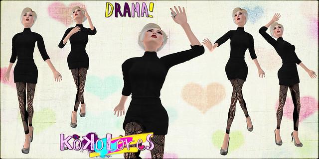 [KoKoLoReS] Drama! poses