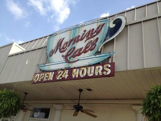 Morning Call, Metairie LA