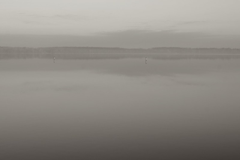 Foggy lake experiment