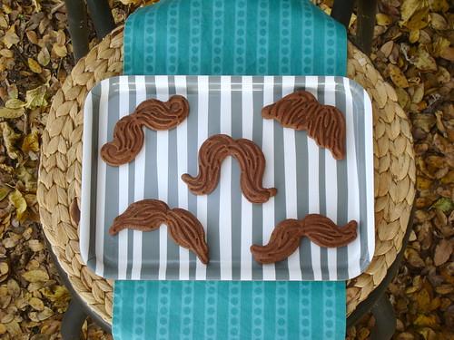 Chocolate 'Stache Cookies