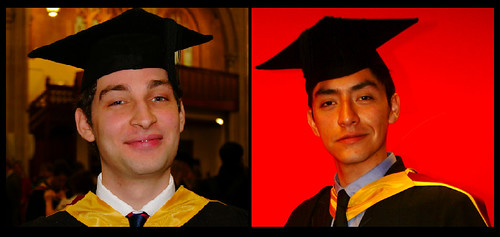 Our graduations!