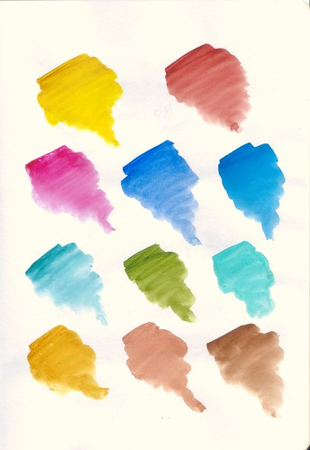 Canson Art Book: Inspiration Watercolor Swatches