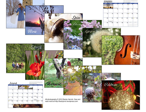 calender back page