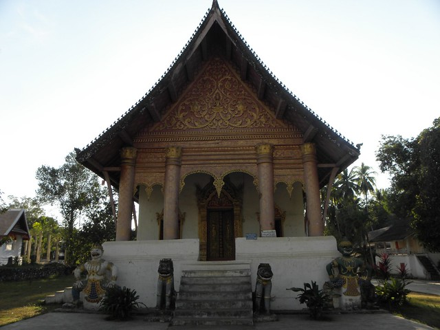 A temple in Luang Prabang, Laos