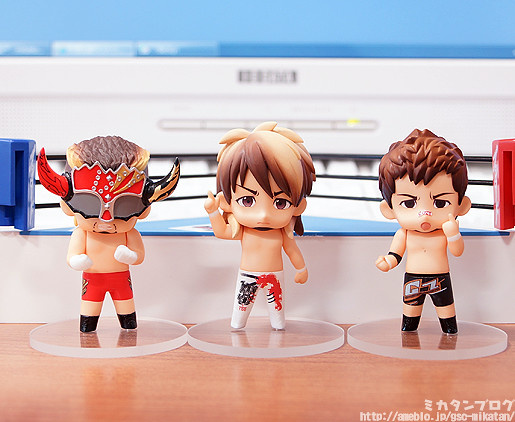 Nendoroid Petite: New Japan Pro-Wrestling Set