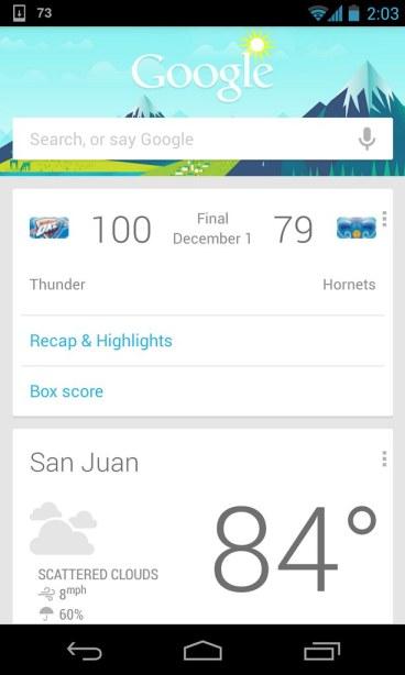Nexus 4 — Android 4.2