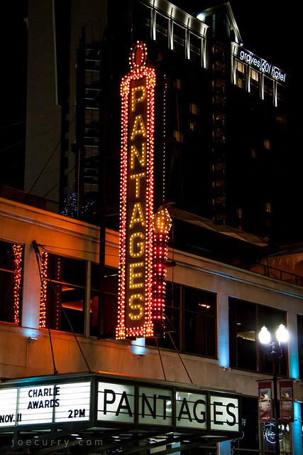 Pantages Theatre, Minneapolis
