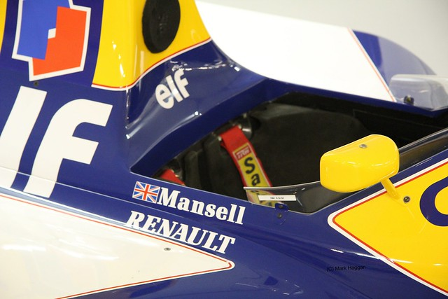Nigel Mansell's Championship Winning FW14B at The Donington Collection