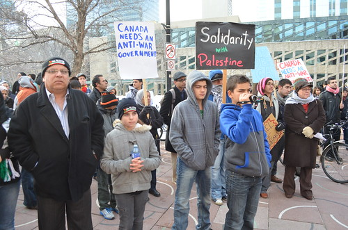 Emergency Rally for Gaza - Edmonton