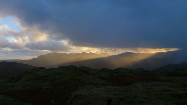Langdale, sunset