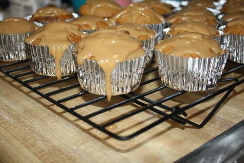 Leftover Sweet Potato Casserole Cupcakes