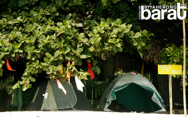 Camping in Pansacola Beach Resort tents Quezon Province