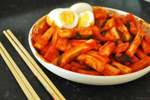 tteokbokki, dukbokki, korean, korea, korean snack, street food, tteok, popular,