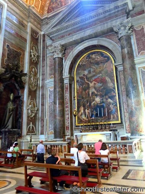 St. Peter's Basilica- Chapel of St. Sebastian