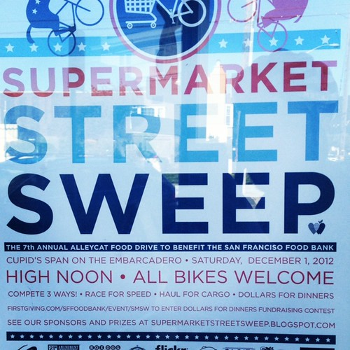 Supermarket Street Sweep by Archive Victor