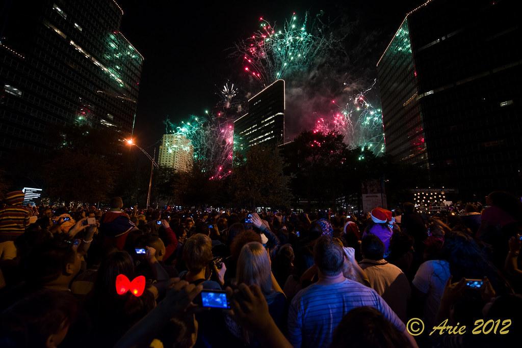 Uptown Park Holiday Lighting