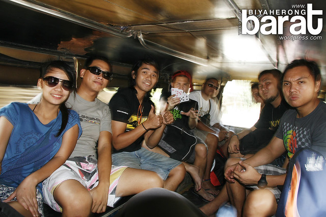 jeepney to Real Quezon