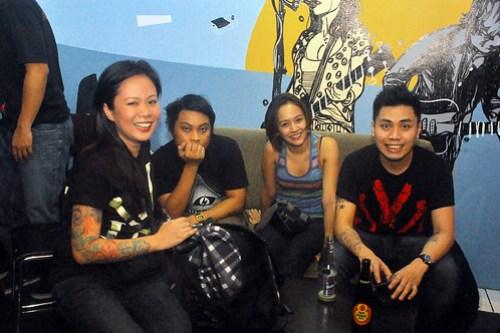 Talata at Amos Cafe - Nov. 23, 2012