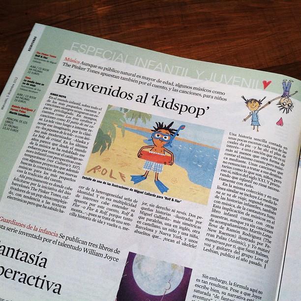"""Hoy, ROLF & FLOR en el suplemento """"Culturas"""" de La Vanguardia!"""