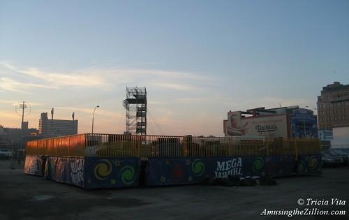MegaWhirl Ride in Coney Island