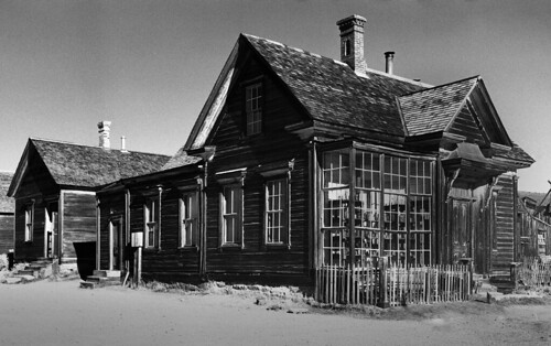 James Cain residence, Bodie (circa 1890)