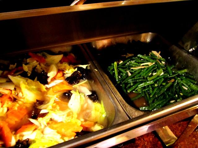 Mixed veg & long beans