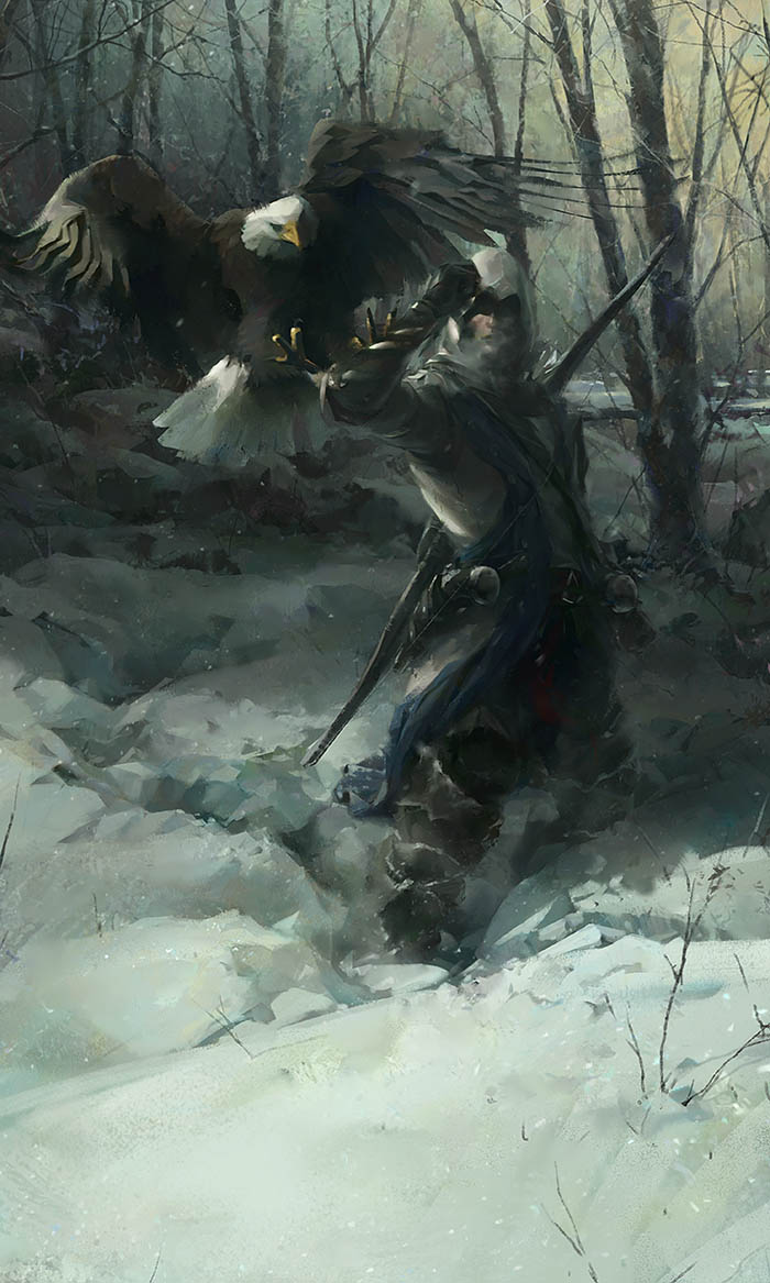 Concept Art For Assassin S Creed 3 Created By William Wu