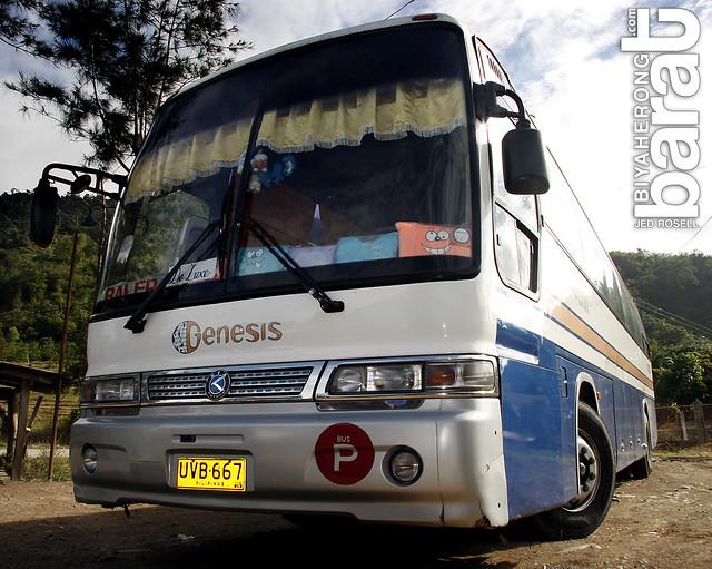 Genesis Bus Transport bound for Baler Aurora