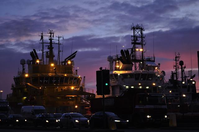 2011-01-21 Aberdeen harbour