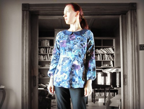 Sewaholic Alma blouse