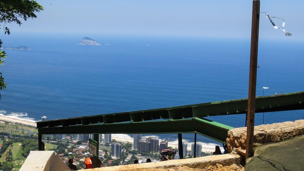 View from Hangliding Platform - Rio de Janerio, Brazil