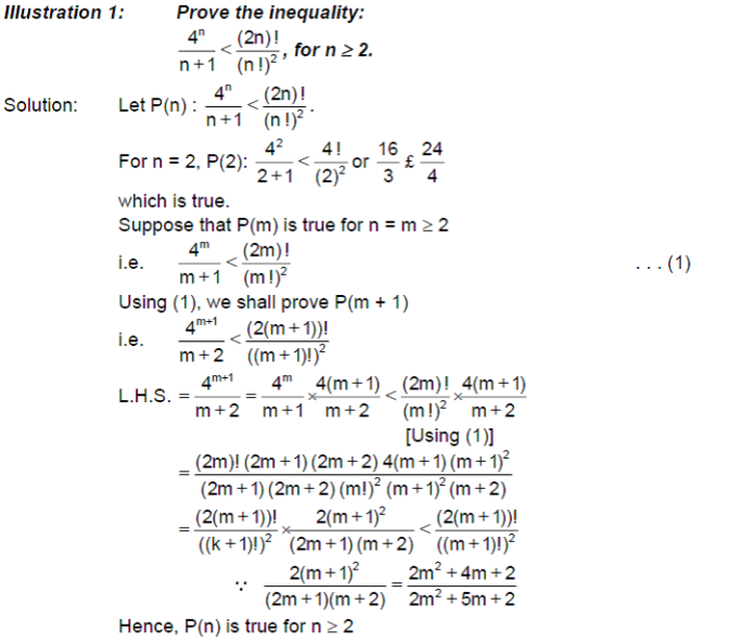 Binomial Theorem - Mathematical Induction And Its Applications