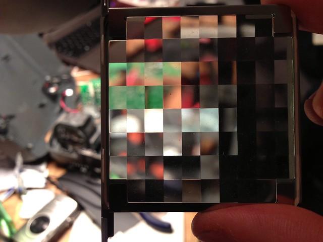 LCD projector diffuser