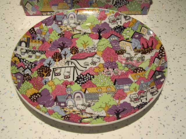 Hello Kitty Liberty Art Fabrics Dinner Set