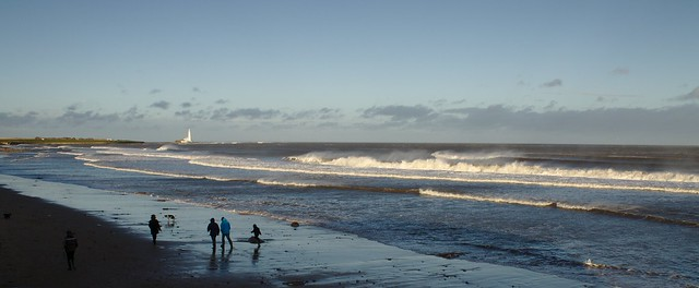 Sunny Day in Whitley Bay